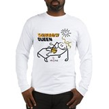 This mom loves to sunbath Long Sleeve T-Shirt