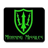 Morning Missiles Mousepad
