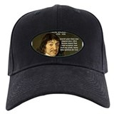 Rene Descartes Baseball Hat