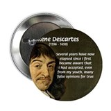 Rene Descartes Button