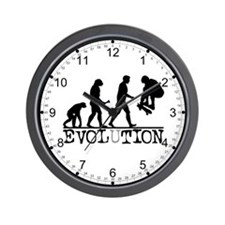 EVOLUTION Skateboarding Wall Clock