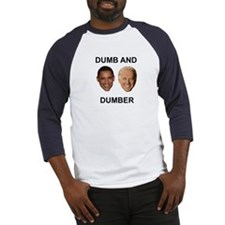Obama Dumb and Dumber Baseball Jersey