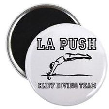 La Push Cliff Diving Team Magnet