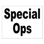 Special Ops Small Poster