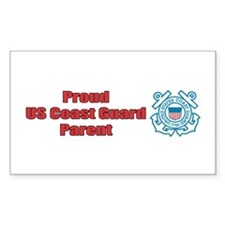 USCG Parent Rectangle Decal