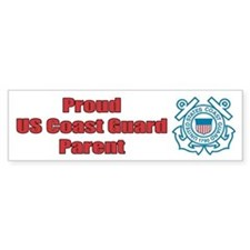 USCG Parent Bumper Bumper Sticker