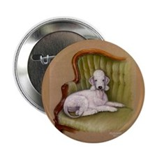 "Bedlington-Her Royal Highness 2.25"" Button (10 pac"