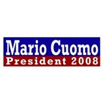 Mario Cuomo for President 2008 (sticker)