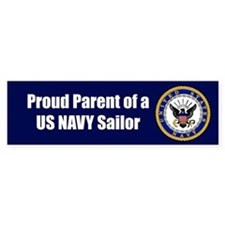 Navy Sailor Parent Bumper Bumper Sticker
