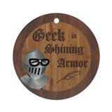 Geek Armor Ornament (Round)