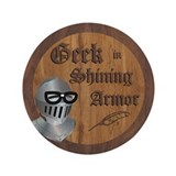 "Geek Armor 3.5"" Button (100 pack)"