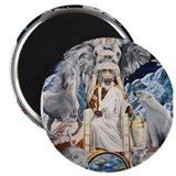 "NEW!!!! ""THE ORISHA SERIES"" O 2.25"" Magnet (100 pa"