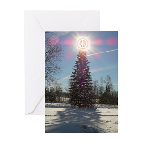 Christmas Peace Greeting Card