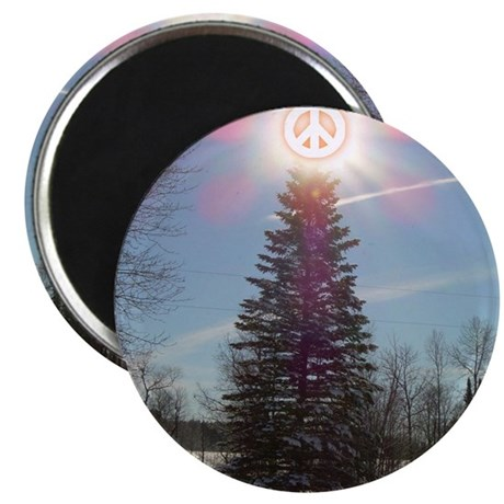 "Christmas Peace 2.25"" Magnet (100 pack)"