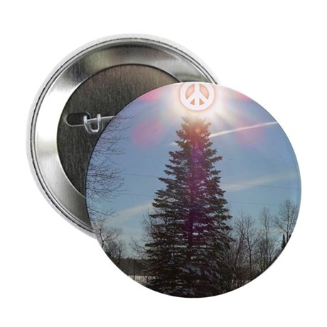 "Christmas Peace 2.25"" Button (100 pack)"
