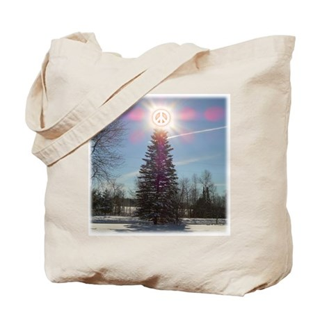 Christmas Peace Tote Bag