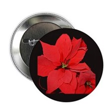 "Poinsettia 2.25"" Button (100 pack)"