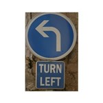 Turn Left Political Magnets (100 pack)