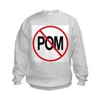 Just Say No to POM Kids Sweatshirt
