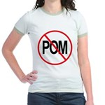 Just Say No to POM Jr. Ringer T-Shirt