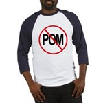 Just Say No to POM Baseball Jersey