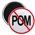 "Just Say No to POM 2.25"" Magnet (100 pack)"