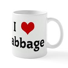 I Love cabbage Mug