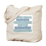 Nursing School Pain Scale Tote Bag