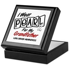 I Wear Pearl For My Grandfather 8 Keepsake Box