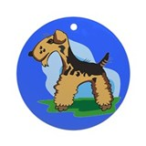 Welsh Terrier Keepsake (Round)