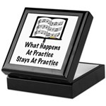 What Happens At Practice Orchestra Keepsake Box