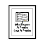 What Happens At Practice Orchestra Framed Panel Pr