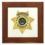 Knox County Sheriff Framed Tile