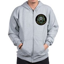 509th Bomb Wing Zipped Hoody