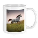 Mug  with Saphire Blue Running Horse