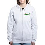 Weiner Dog Women's Zip Hoodie