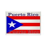 Puerto Rico Rican Flag Rectangle Magnet (100 pack)