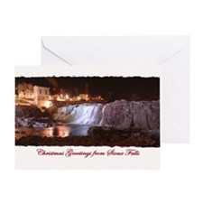 Falls Park 2 Greeting Card