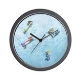 The Book of Mermaids Wall Clock