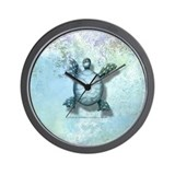 The Book of Mermaids Turtle Wall Clock