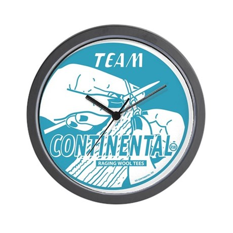 Team Continental Wall Clock