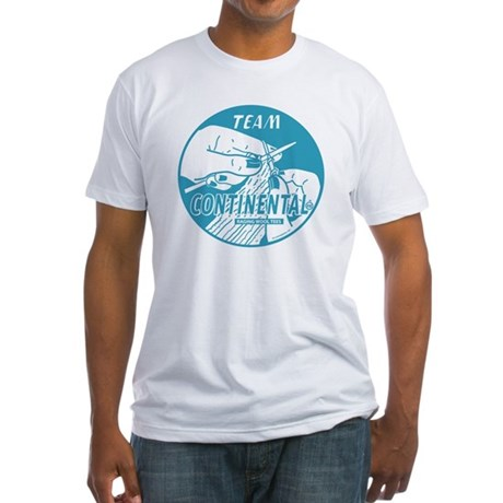 Team Continental Fitted T-Shirt