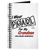 I Wear Pearl For My Grandson 8 Journal