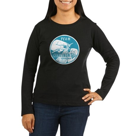 Team Continental Women's Long Sleeve Dark T-Shirt