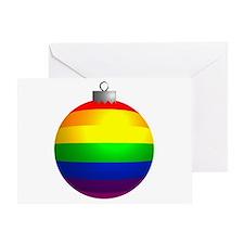 Rainbow Ornament Greeting Card