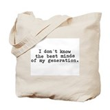 Cool My generation Tote Bag