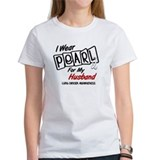 I Wear Pearl For My Husband 8 Tee