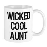 Wicked Cool Aunt! Mug