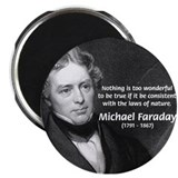 "Michael Faraday 2.25"" Magnet (10 pack)"
