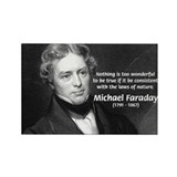 Michael Faraday Rectangle Magnet